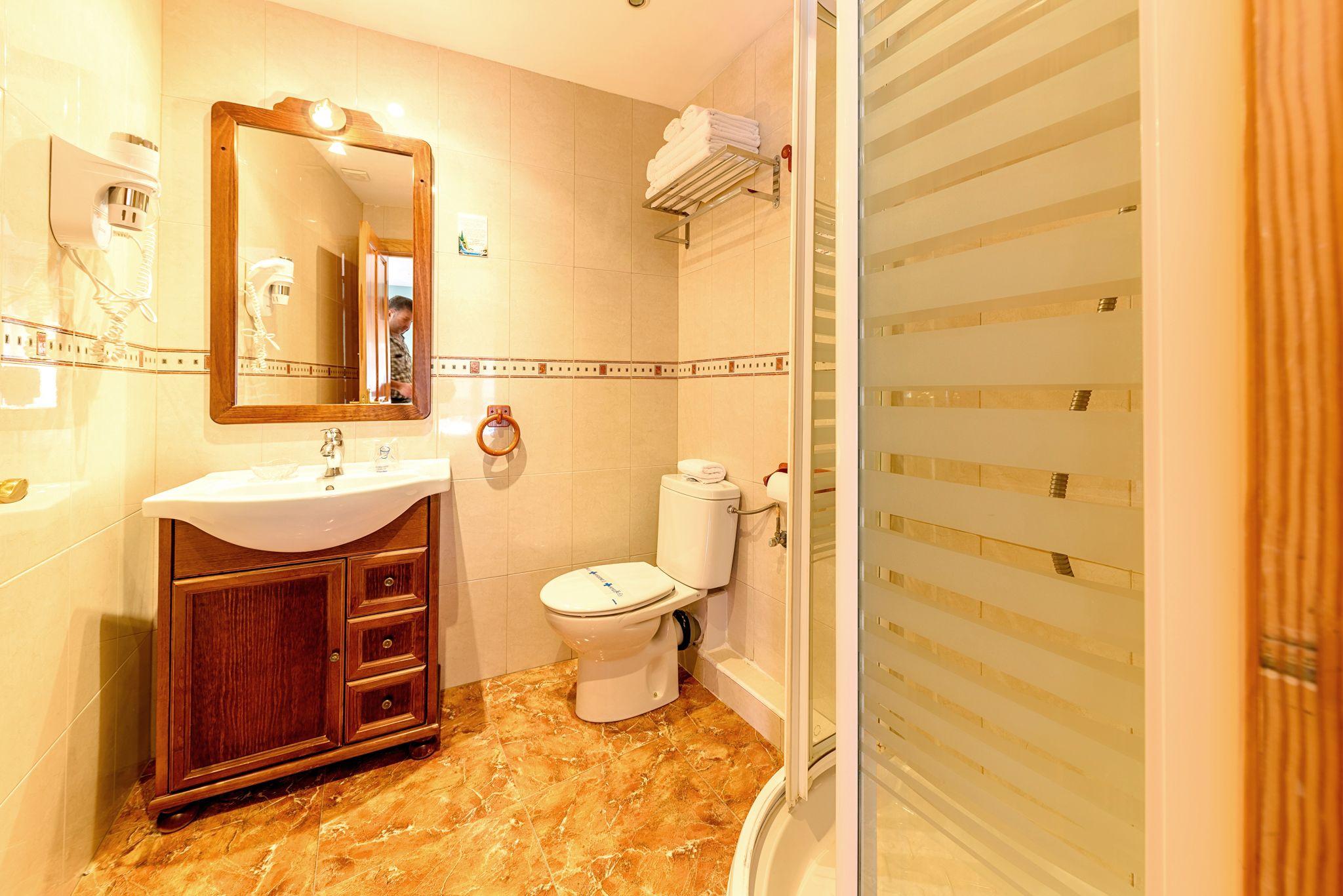 Habitación Cuádruple. Hotel en Castro Urdiales