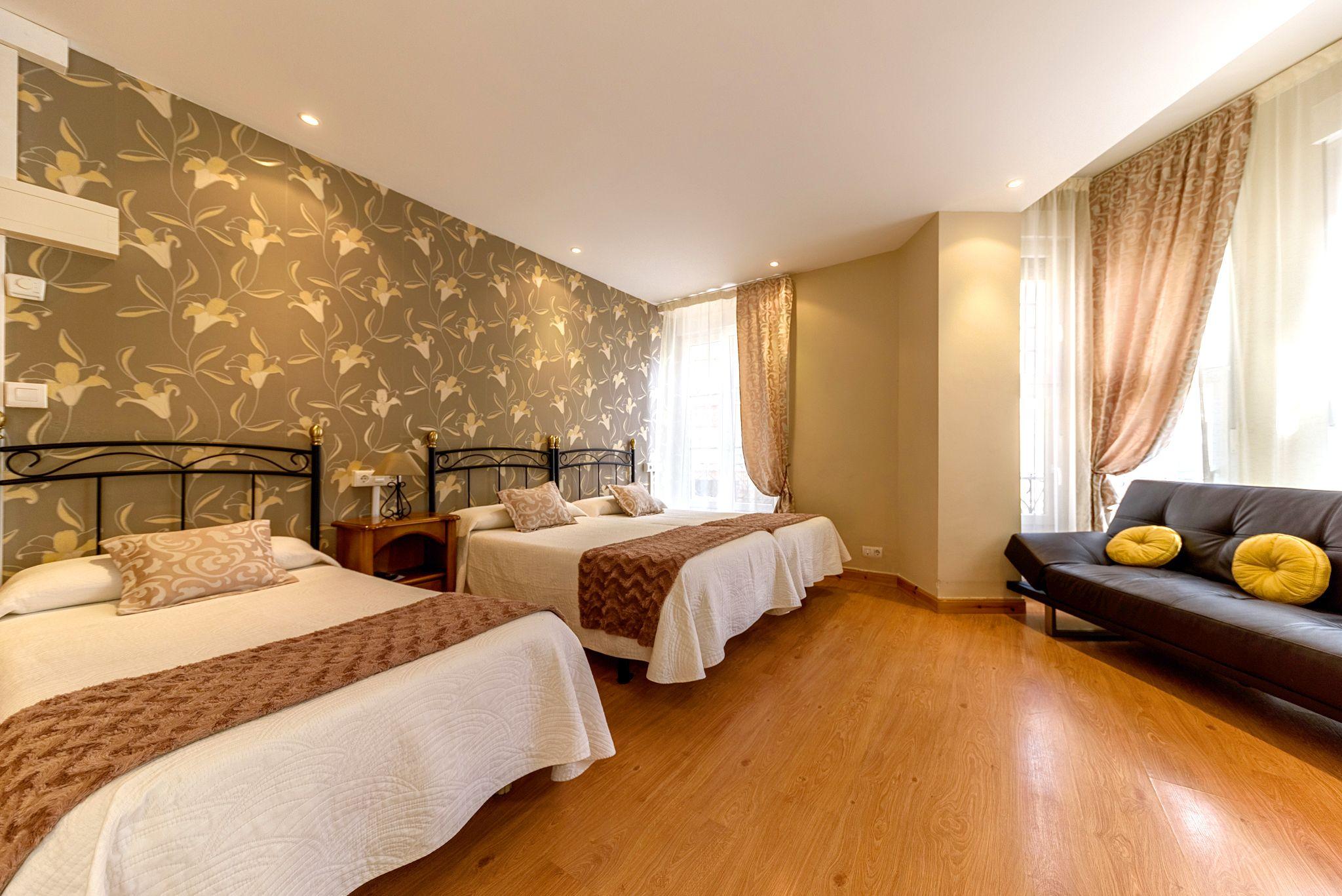 Habitación Cuadruple. Hotel en Castro Urdiales