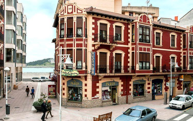 Hostal Hosteria Villa de Castro exterior