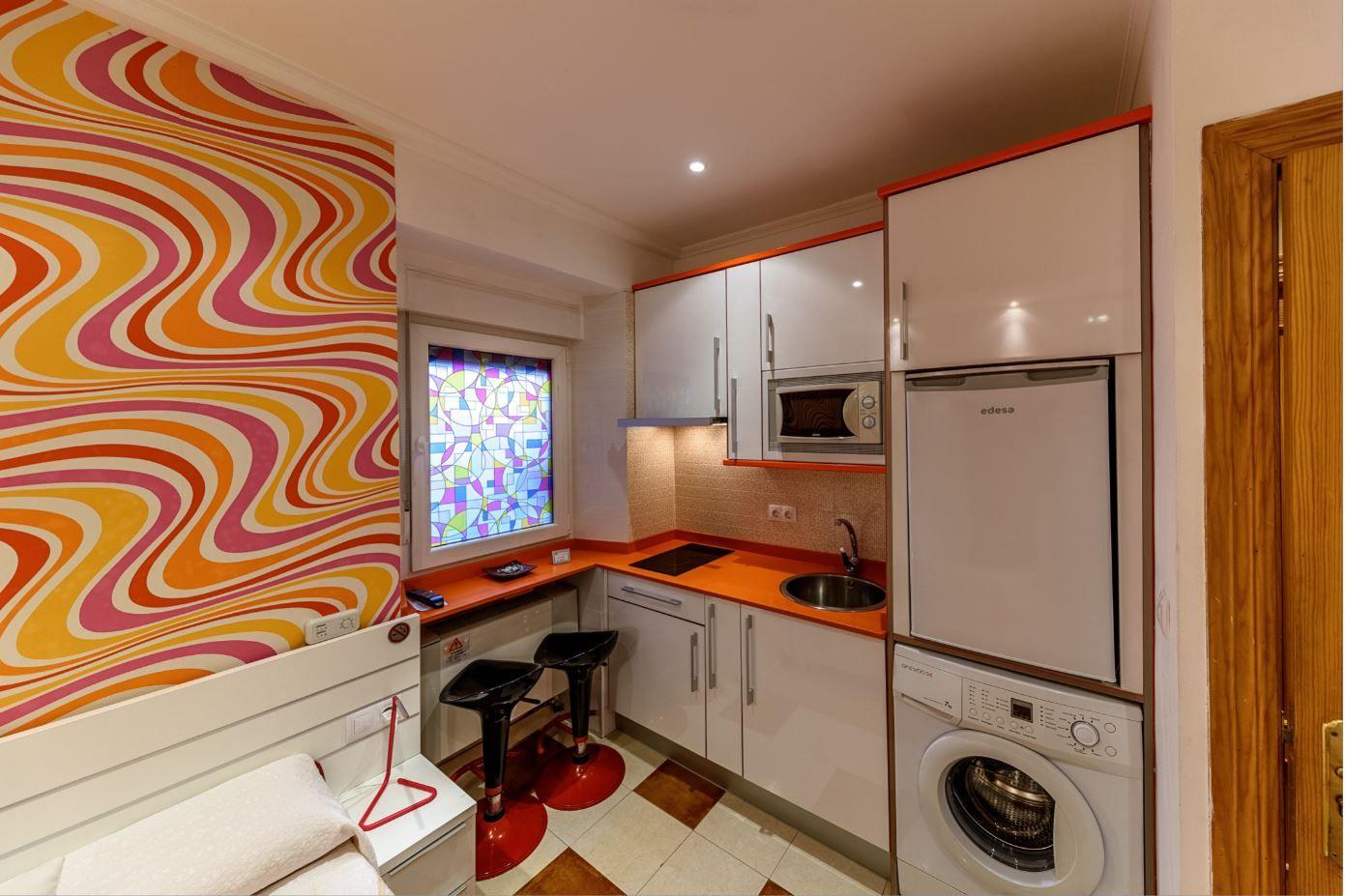 Habitación Doble en hotel Castro Urdiales con cocina
