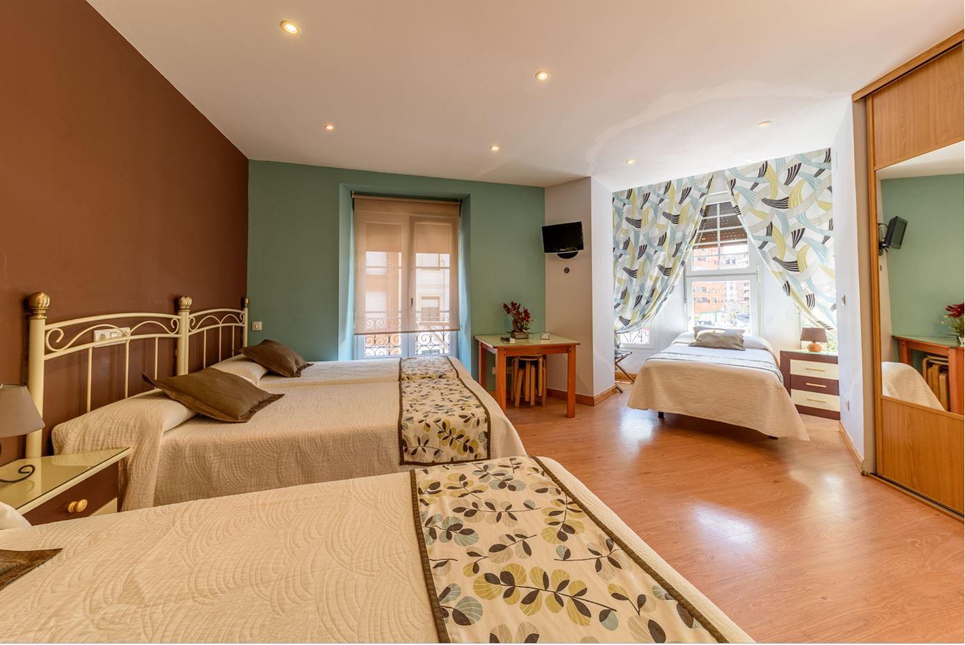 Habitación Cuadruple en hotel Castro Urdiales barato